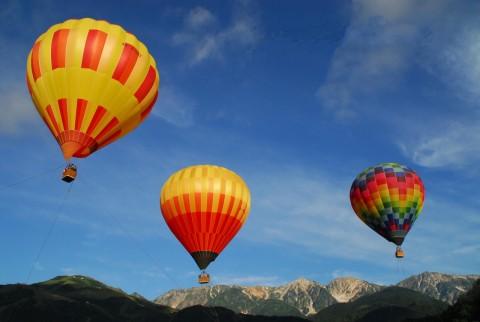 気球3個 三山kkk